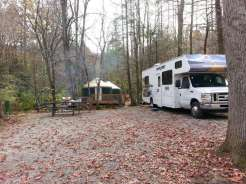 Great Smoky Jellystone Camp-Resort in Cosby Tennessee Backin and Yurts