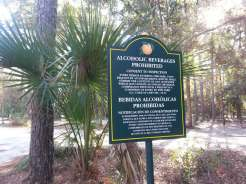 Kelly Park / Rock Springs in Apopka Florida No Alcohol