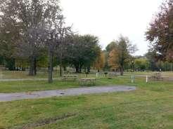 Kentucky Dam Village State Resort Park in Gilbertsville Kentucky Backin Site