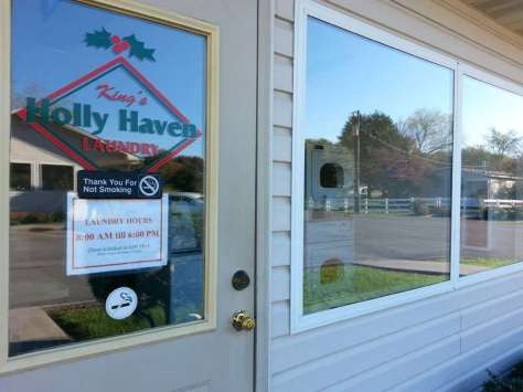 King's Holly Haven RV Park in Pigeon Forge Tennessee Laundry