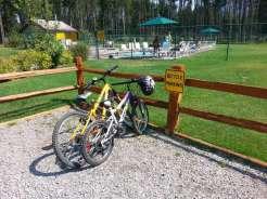 koa-west-glacier-montana-bike-parking