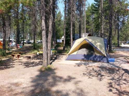 koa-west-glacier-montana-shaded-tentsite