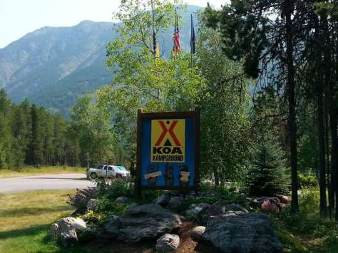 koa-west-glacier-montana-sign