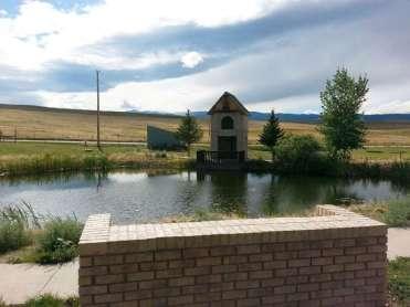The Lake Stop Resort north of Buffalo Wyoming RV Small Lake