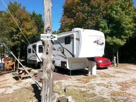 Lakeview Campground in Branson Missouri Backin