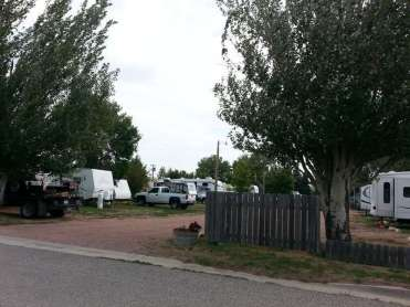 Lazy R Campground in Ranchester Wyoming Backins