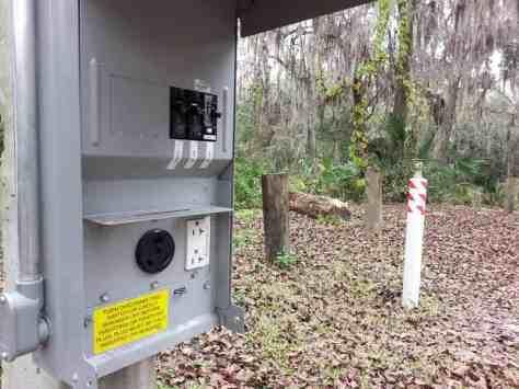 Lithia Springs Regional Park in Lithia Florida Electric Hookup