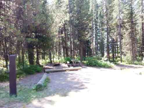 Lizard Creek Campground Moran Wyoming Rv Park