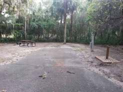 Magnolia Park Campground in Apopka Florida Backin
