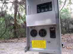 Magnolia Park Campground in Apopka Florida Electric