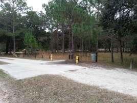 Moss Park Campground near Orlando Florida Dump Station