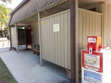 New Smyrna Beach RV Park and Campground in New Smyrna Beach Florida Restroom