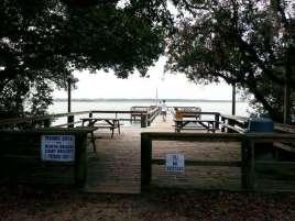 North Beach Camp Resort in Saint Augustine Florida Water
