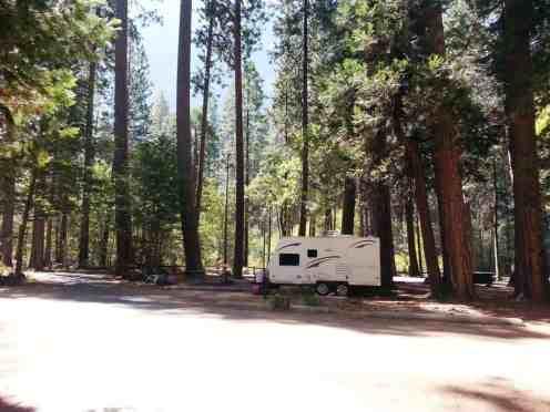 North Pines Campground Yosemite National Park California