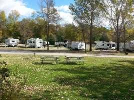 Oakwood RV Park in Clear Lake Iowa RV Sites