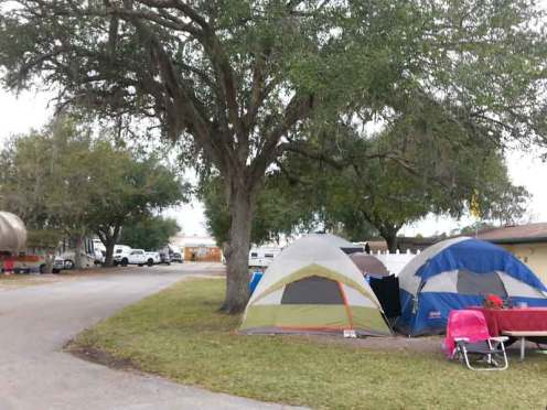 Orlando Kissimmee KOA in Kissimmee Florida Tent Sites