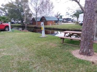 Orlando SE Lake Whippoorwill KOA in Orlando Florida Creekside