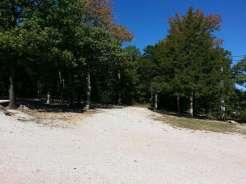 Ozark Country Campground in Branson Missouri Backin