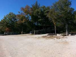 Ozark Country Campground in Branson Missouri Shaded Backins