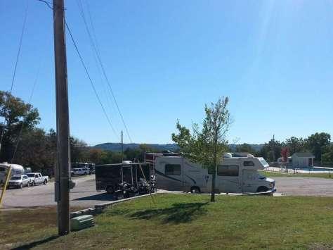Ozark Country Campground in Branson Missouri Pull Thru
