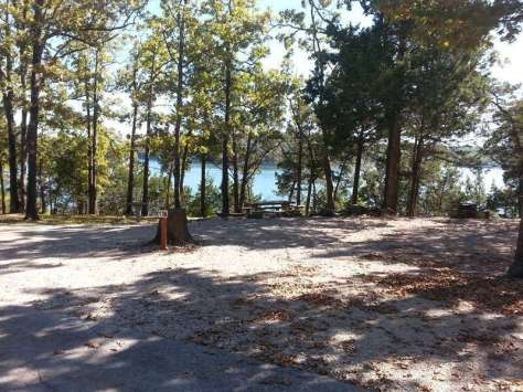 Port of Kimberling Marina RV Park and Campground in Kimberling City Missouri tent site