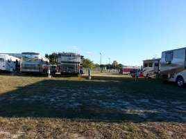 Racetrack RV Park in Daytona Beach Florida Pull thru