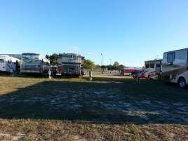 Racetrack RV Park in Daytona Beach Florida Pull thru