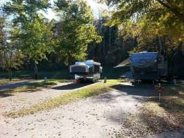 Riverbend Campground in Pigeon Forge Tennessee Backins