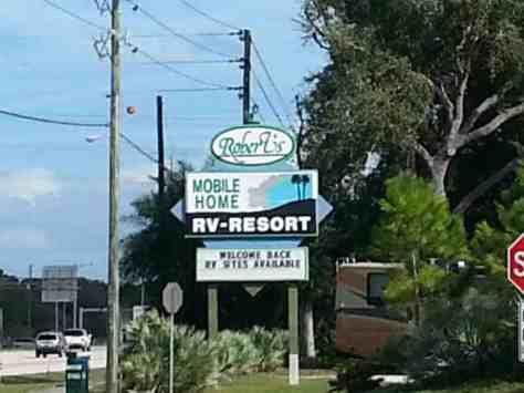 Roberts Mobile Home Rv Resort St Petersburg Florida