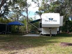 Rose Bay Travel Park in Port Orange Florida Backin