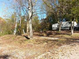 Shady Oaks Campground in Pigeon Forge Tennessee Backins
