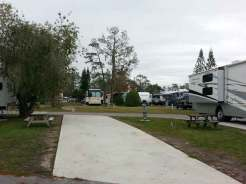 Sherwood Forest RV Park in Kissimmee Florida Pull thru
