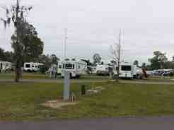 Sherwood Forest RV Park in Kissimmee Florida Grass SItes