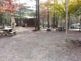 Smoky Bear Campground in Cosby Tennessee Tent Sites