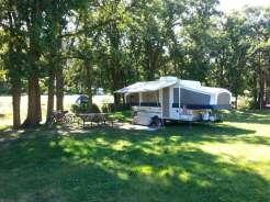 Spokane Creek Cabins & Campground near Keystone South Dakota backin