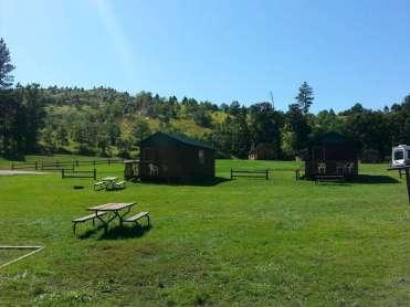 Spokane Creek Cabins & Campground near Keystone South Dakota Cabin