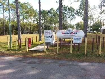 Stagecoach RV Park in St Augustine Florida Propane