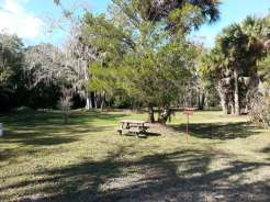 Sugar Mill Ruins Travel Park in New Smyrna Beach Florida Tent Site
