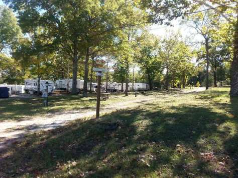 Table Rock Shores Campground in Kimberling City Missouri Sites
