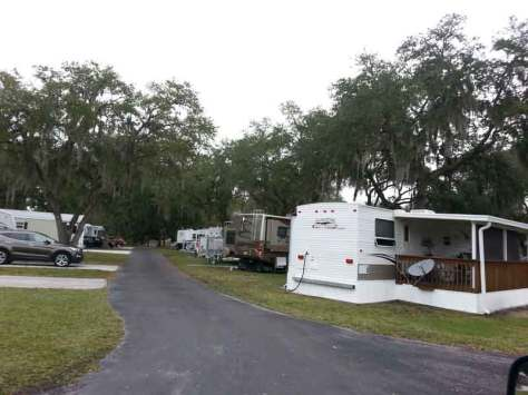 Tampa East RV Park in Dover Florida RV Sites