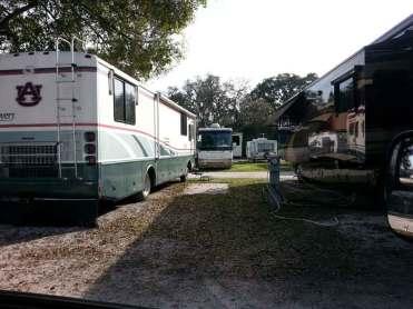 Tampa RV Park in Tampa Florida Pull thru