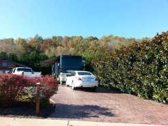 The Dell Motorcoach Resort in Sevierville Tennessee Occupied Site