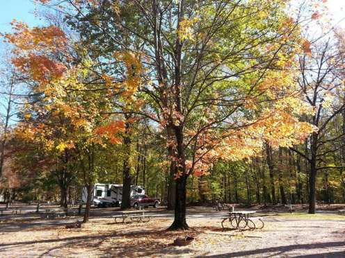 Townsend / Great Smokies KOA in Townsend Tennessee Fall Colors
