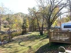 Townsend / Great Smokies KOA in Townsend Tennessee River Overlook