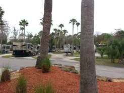 Tropical Palms Resort in Kissimmee Florida Pull thru