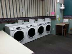 Twin Creek RV Resort in Gatlinburg Tennessee Laundry