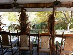 Twin Creek RV Resort in Gatlinburg Tennessee Porch