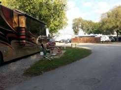 Two Rivers Campground in Nashville Tennessee Large Pull thru