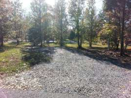 Up the Creek RV Camp in Pigeon Forge Tennessee Backin
