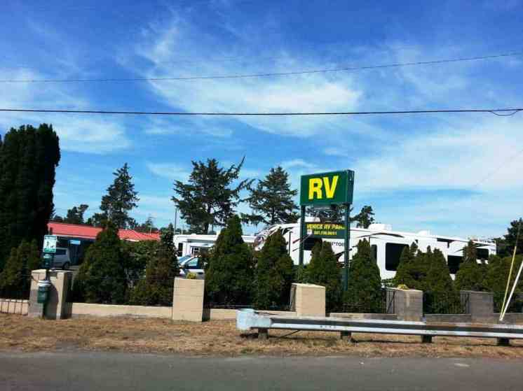 Venice Rv Park Seaside Oregon Rv Park Campground